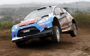 Picture ford, rally, rally, wrc, fiesta, Mads Ostberg, Mads Ostberg