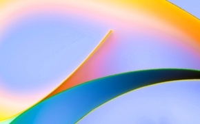 Picture light, line, sheet, color, bending