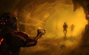 Picture art, Shepard, Mass Effect 3, Shepard, collectors