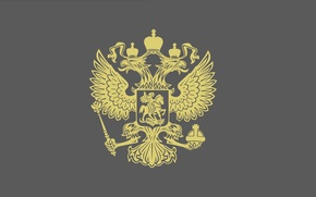Picture Minimalism, The Wallpapers, The Coat Of Arms Of The Russian Federation
