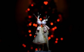 Picture macro, background, holiday, toys