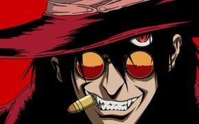 Picture vampire, hellsing, alucard