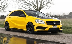 Wallpaper automotive, A45AMG, mulgari, A45, AMG, Mercedes