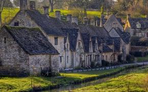 Picture England, village, town, Bibury, Gloucestershire
