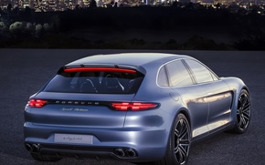 Picture Concept, Porsche, Panamera, Porsche, back, Sport Turismo
