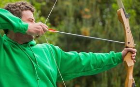 Wallpaper bow, arrow, archery