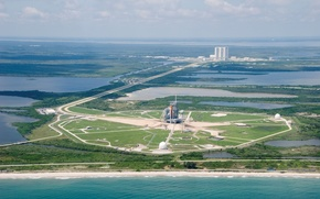 Picture Shuttle, space shuttle, Cape Canaveral