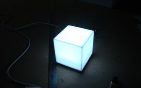 Picture lamp, homemade, my job
