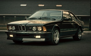 Picture BMW, black, E24, CSi, M635