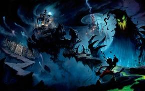 Wallpaper evil, monster, Disney, Epic Mickey