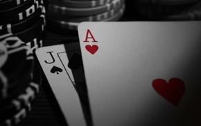 Picture macro, chips, casino, playing cards, blackjack, blackjack