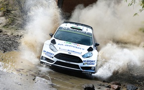 Picture Ford, Squirt, WRC, Rally, Fiesta, Evans, Ford