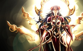 Picture League of Legends, fanart, Irelia, LoL, redesign