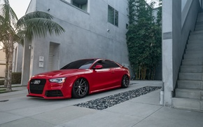 Wallpaper Audi, RS5, Vossen, Wheels