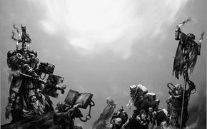 Wallpaper space marine, warhammer 40k, bolter, black templars