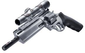 Picture Nikon, metal, gun, military, weapon, 454 Casull, magnum, revolver, Taurus, scope, ordnance, telescopic lenses, made …