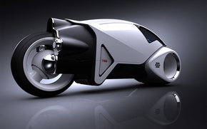 Wallpaper TRON, motorcycle, prototype