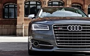 Picture face, Audi, Audi, lights