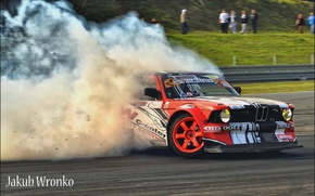 Picture smoke, show, drift, tricks