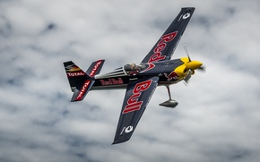 Picture Red Bull, Plane, Fly