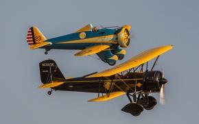 Wallpaper flight, retro, classic, aircraft