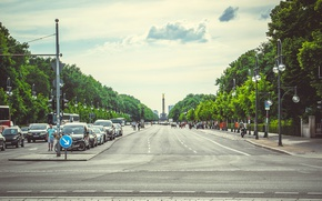 Picture road, summer, the city, journey, tourism, Germany, Berlin