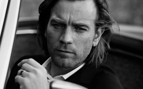 Picture photoshoot, Ewan McGregor, IWC Schaffhausen, for the company