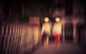 Picture blur, Blurred, defocus, Brendan Ó Sé, Defocused, Mrs. Lady & Mrs. Woman, Abtraction