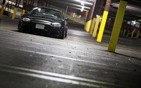 Picture Mazda, black, jdm, Miata
