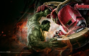 Picture hulk, iron man, The Avengers, Ultron, Era
