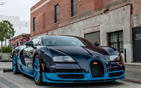 Picture car, veyron, bugatti, super, vitesse