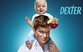 Picture the film, Dexter, the series, child
