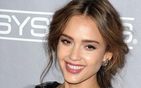 Picture face, smile, star, actress, beauty, jessica alba, latina