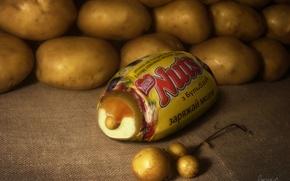 Picture Potatoes, Chocolate, Bulbash