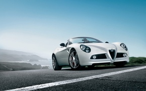 Wallpaper alfa romeo, car, Alfa Romeo, machine