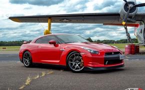 Picture GTR, Nissan, Black, Series, Chrome, ACE, Flowform