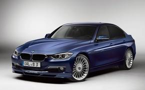 Picture Blue, BMW, BMW, Alpina, Limousine, Bi-Turbo