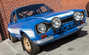 Picture Ford, MK1, Fast & Furious 6, Escort