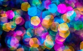 Wallpaper color, figure, blur, background