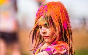 Picture paint, girl, utah, festival of colors, salem