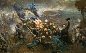 Picture War, battle, the battle