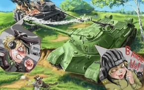 Picture war, tanks, battle, Nakamoora