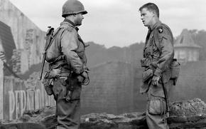 Picture war, Tom Hanks, Saving private Ryan, Saving Private Ryan, Matt Damon