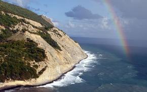 Picture Rainbow, Russia, Durso, Abrau, Storm