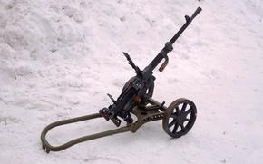 Picture weapons, war, machine gun, Soviet, world, Second, times
