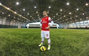 Picture background, the ball, Arsenal, Arsenal, Football Club, The Gunners, The gunners, Football club, Jack Wilshere, …