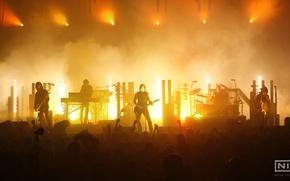 Wallpaper music, concert, Nine Inch Nails