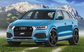 Picture Audi, Blue, Design, Tuning, ABBOT