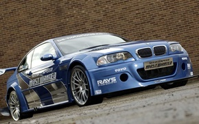 Wallpaper Road, BMW, Wall, Need For Speed Most Wanted