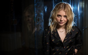 Wallpaper actress, blonde, photoshoot, Chloe Grace Moretz, Chloe Grace Moretz, USA Today, 2016, Medan Dan Mac